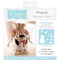 Debbie Shore Template Sheet - Penguin